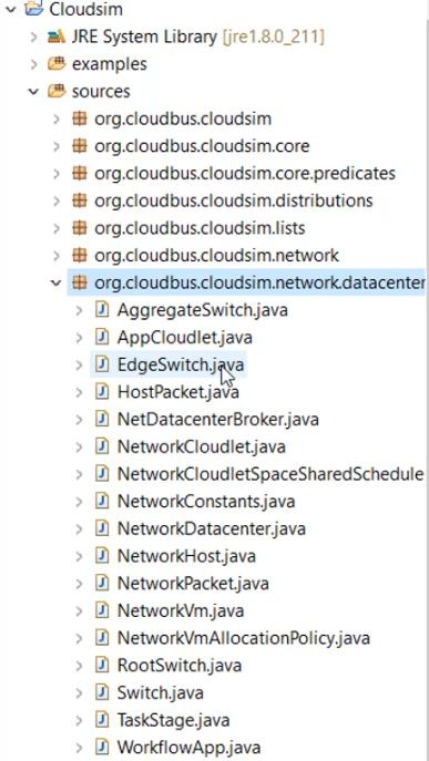 Class list of Org.cloudbus.cloudsim.Network.datacenter